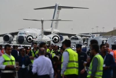 第二届科威特航空展开幕 大众游客超6万人